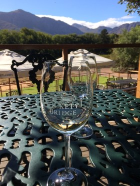 Wine tasting Rickety Bridge