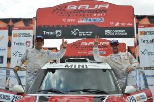 Baja Aragón : Deux Mini sur le podium