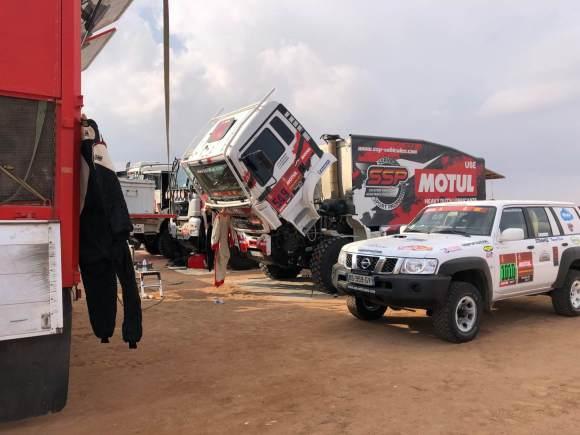 DAKAR 2021 Ric Rallye - Journée de repos