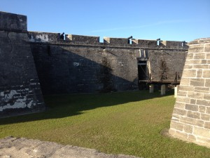 Castillo de San Marcos Drawbridge and Moat