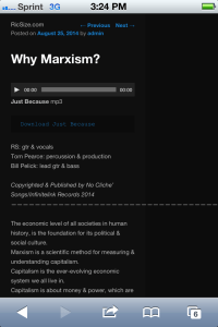 Why Marxism? Just Because