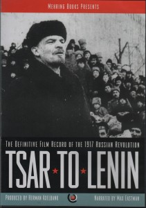 Tsar to Lenin Cover