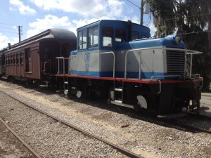 Diesel Locomotive Coupled