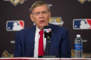 MLB Commissioner Bud Selig