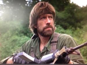 Bawhoosh!!   Chuck Norris MIA bigtime