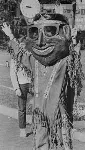 Willie Wampum in Full Costume