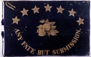 Saint Augustine Blues-- Confederate militia flag (1861)