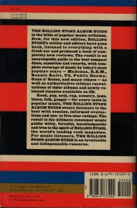 1992 Rolling Stone back flap