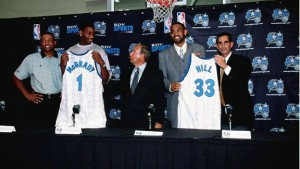 Sensational Tracy McGrady and Crippled Grant Hill Signed