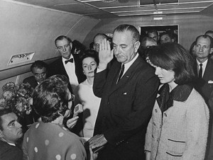 LBJ Inaugurated