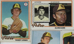 Randy Jones and Alvin Dark Padres