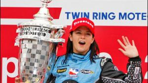 Danica Patrick Wins IndyCar Japan 2008