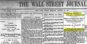 WSJ-federal-reserve-policy-1929