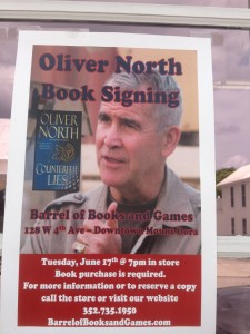 Ollie North_ Book Signing
