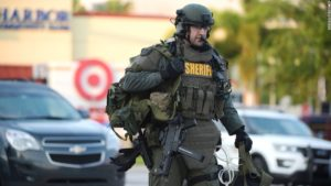Newly Equipped Riot Police, Orlando, FL