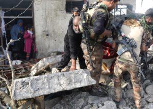 Civilians targeted. REUTERS/Goran Tomasevic