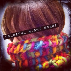 Colorful Night Scarf