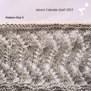 Advent Calendar Scarf 2013 by Kristin Benecken