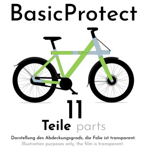Frame protection film for VANMOOF X3 – BasicProtect