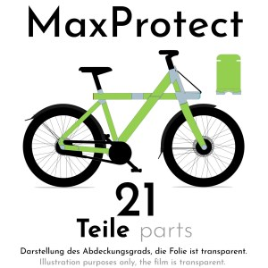 Paint protection film for VANMOOF X3 – MaxProtect