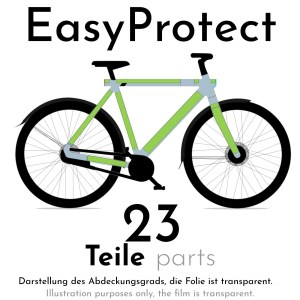 Paint-protection film for VANMOOF S3 – EasyProtect
