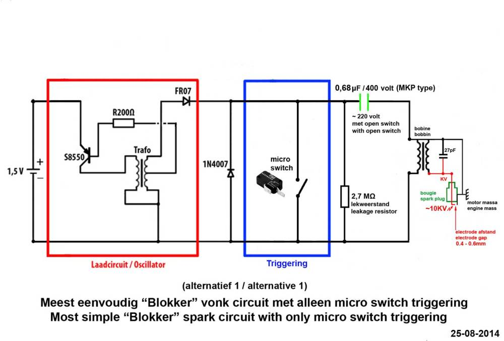 medium resolution of introduction a good spark is crucial to let an ic engine run well andblokker schakeling microswi jpg
