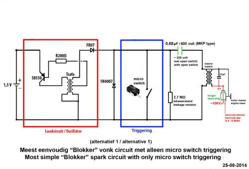 small resolution of introduction a good spark is crucial to let an ic engine run well andblokker schakeling microswi jpg