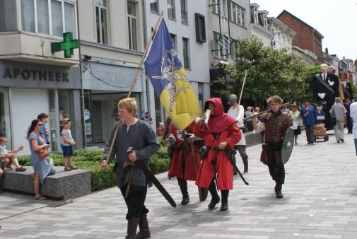 Ridders in de Stationsstraat