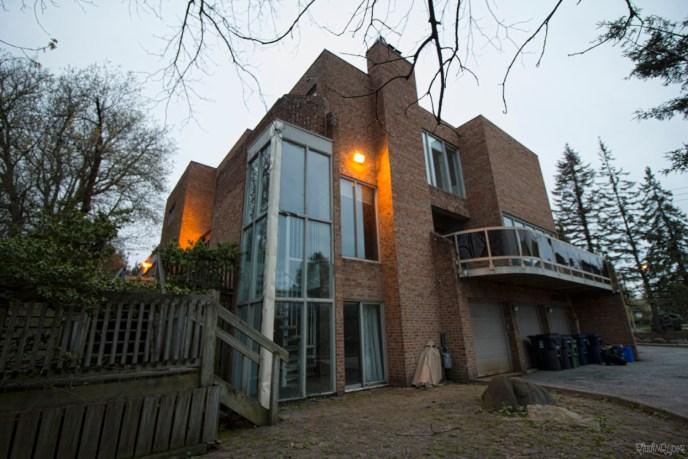 Abandoned 8 million dollar mansion