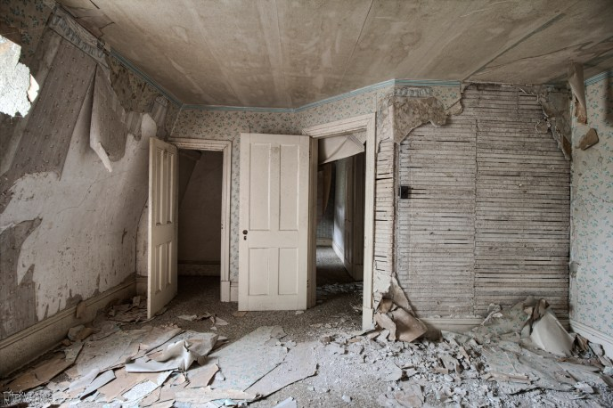 Abandoned French Countryside Manor