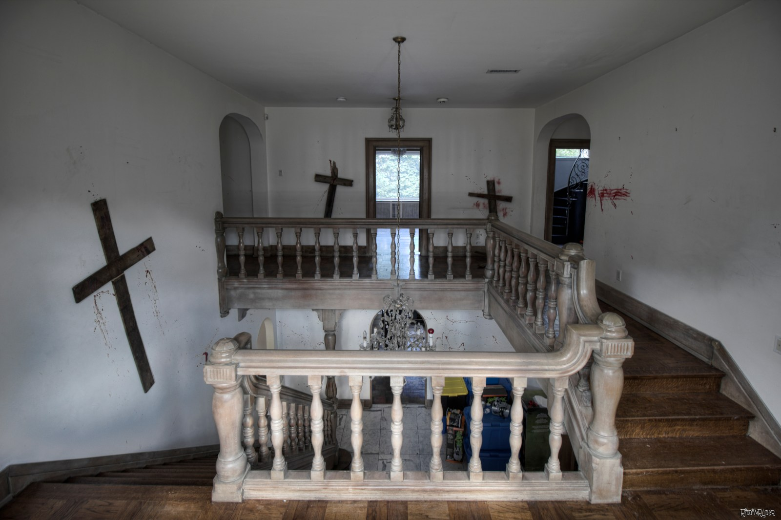 Abandoned $6 Million Dollar Satanic Ritual Mansion
