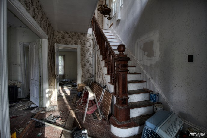 Abandoned Colonial Mansion