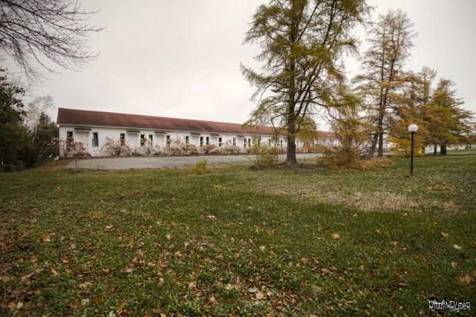 Abandoned Waterfront Resort
