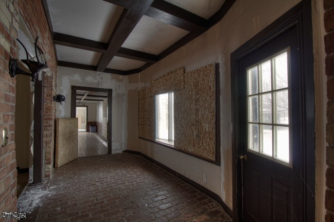 Abandoned Custom Country Mansion