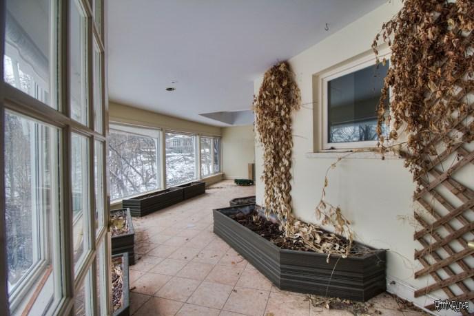 Abandoned Ontario Polish Mansion - Greenhouse