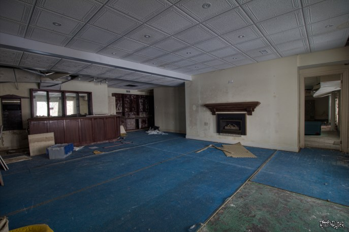Abandoned Ontario Polish Mansion - Basement