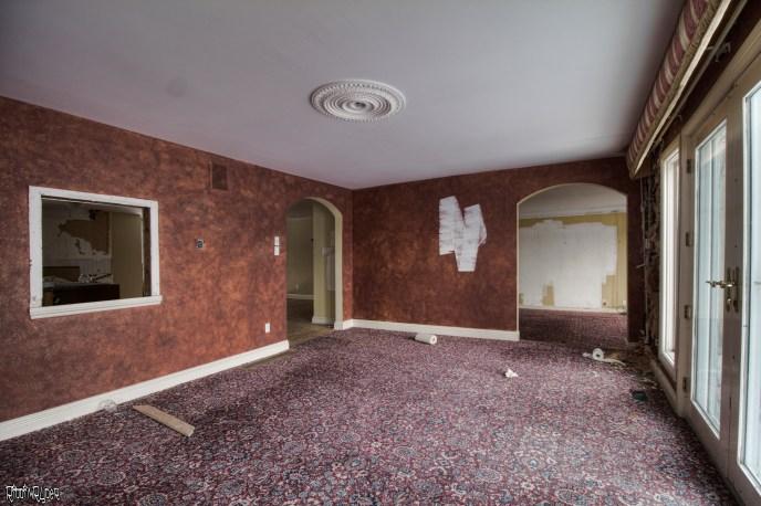 Abandoned Ontario Polish Mansion - Dining Room