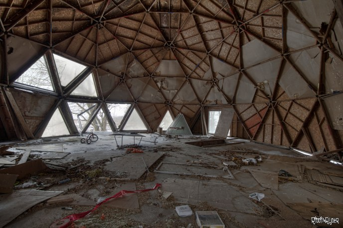 Abandoned Dome House