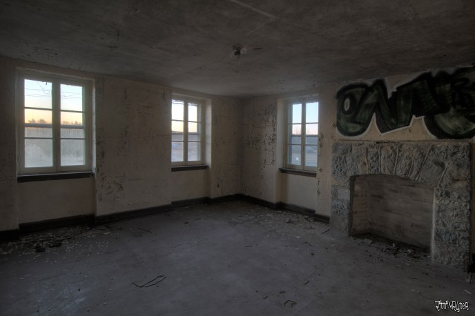 Inside the decaying abbey