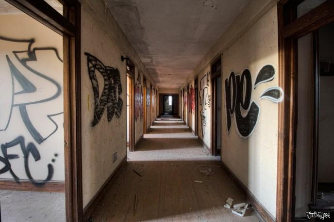 awesome abandoned corridor