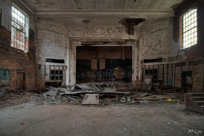 decrepit theater