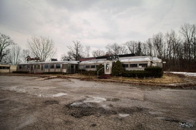 Abandoned Diner Cars
