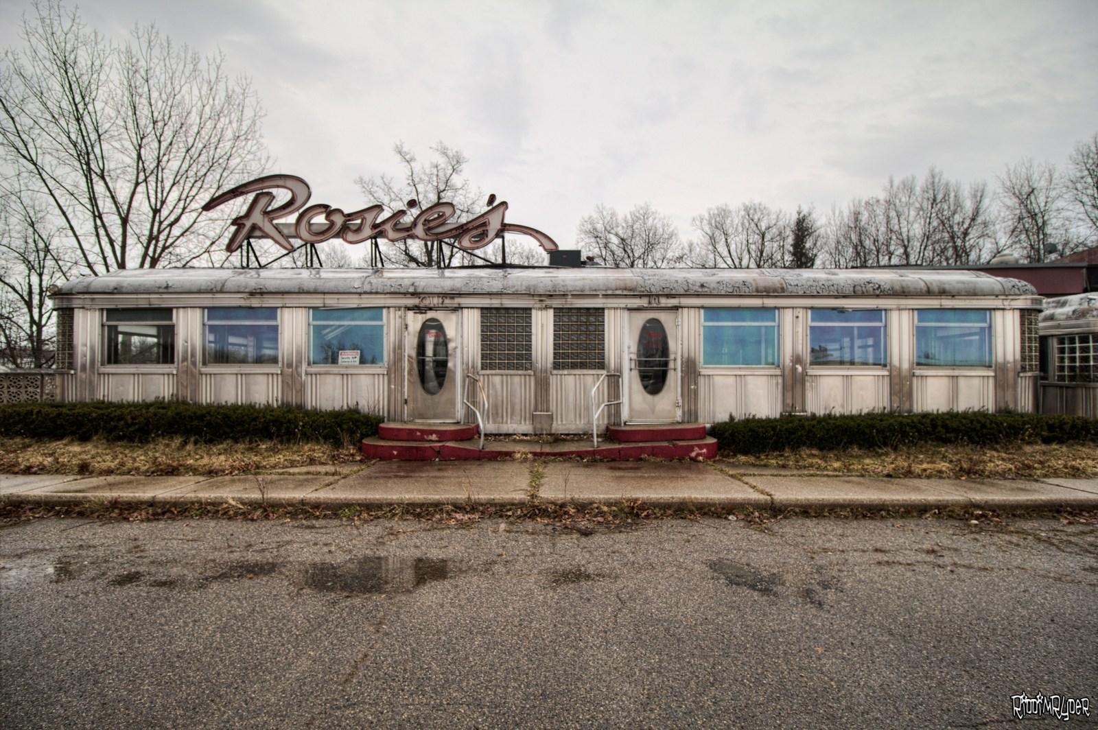 Abandoned Diner Car