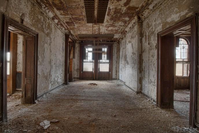 Decaying Corridor of an asylum