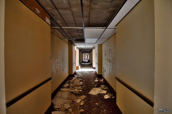 decaying corridor