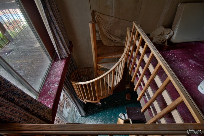decayed staircase