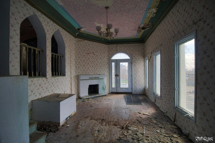 Abandoned Mansion Map Room
