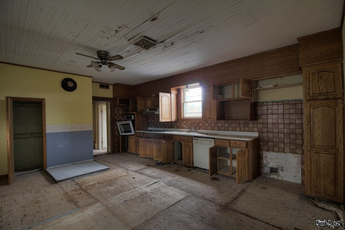Abandoned Country Kitchen