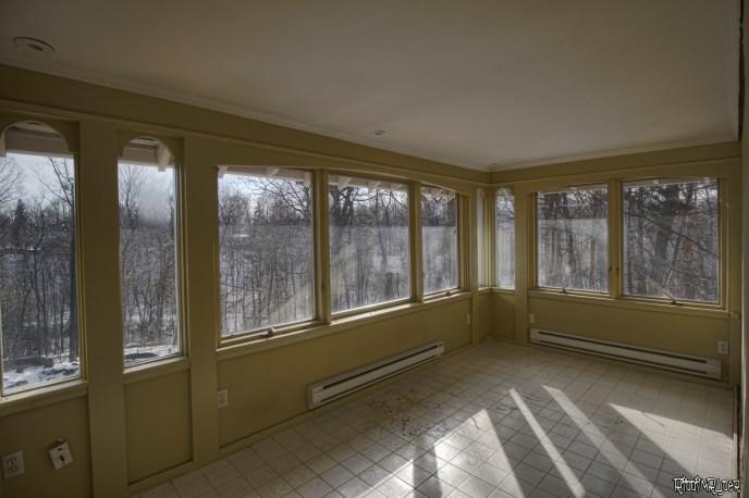 Mansion sunroom