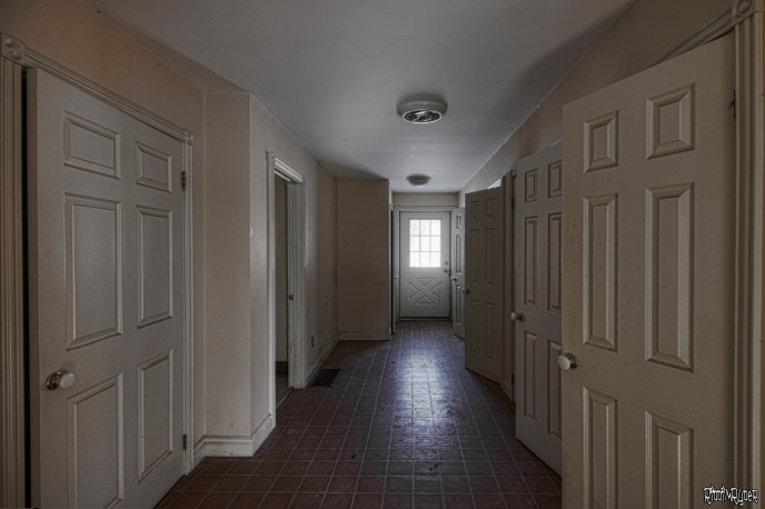 Abandoned Country Home Corridor